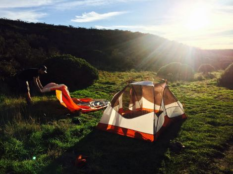 Glamping - tent