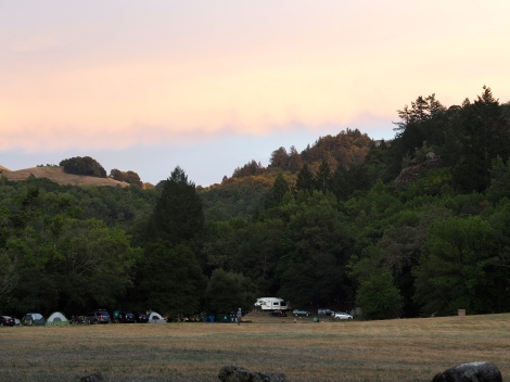 Glamping - Sunset at Sugarloaf