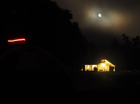 Glamping- Nighttime at Sugarloaf